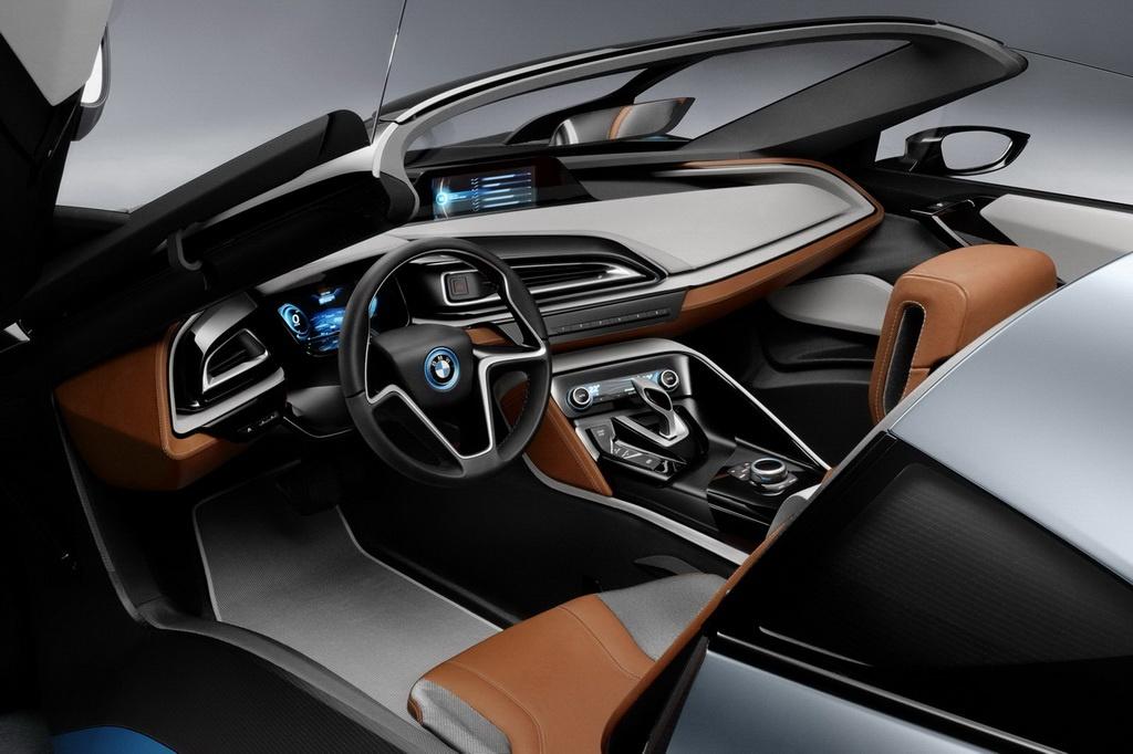 Bmw I8 Spyder Debut In Beijing With Edrive Designation Autoevolution