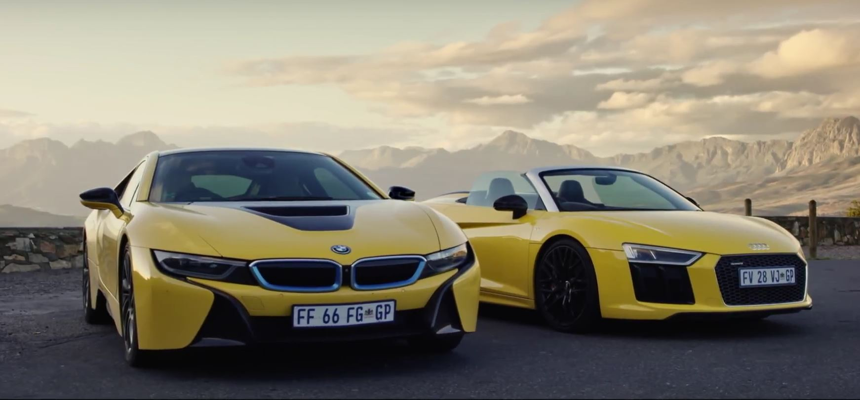 BMW I Vs Audi R Spyder Two Different Supercars That Get Under - Bmw vs audi