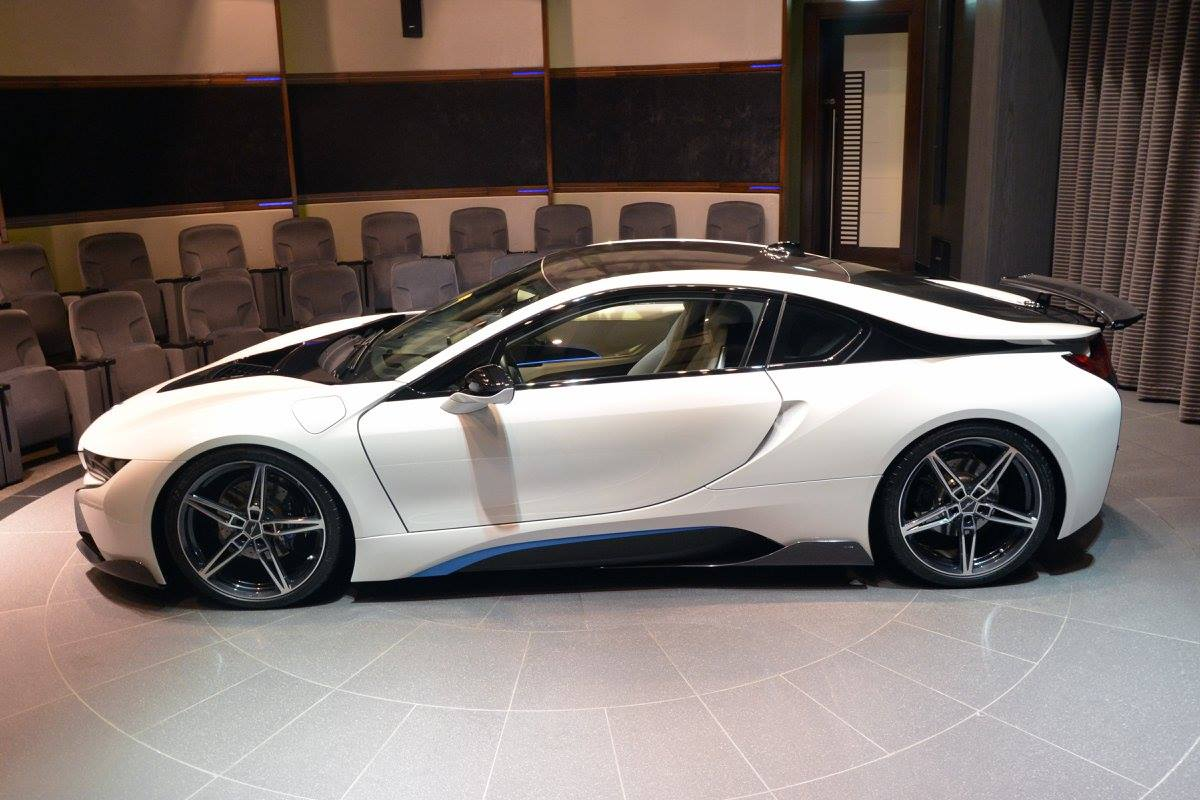 BMW I8 With AC Schnitzer Package Showcased By Abu Dhabi
