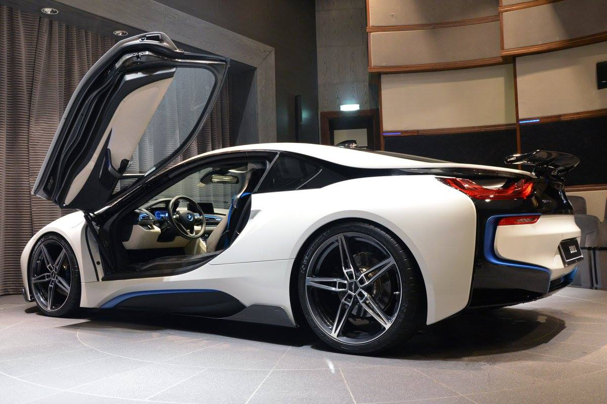 BMW Alpina B6 >> BMW i8 with AC Schnitzer Package Showcased by BMW Abu Dhabi - autoevolution