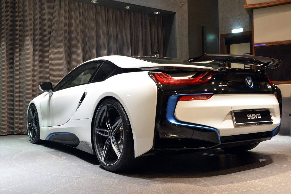 bmw i8 schnitzer ac dhabi abu showcased package tuned autoevolution display racing going