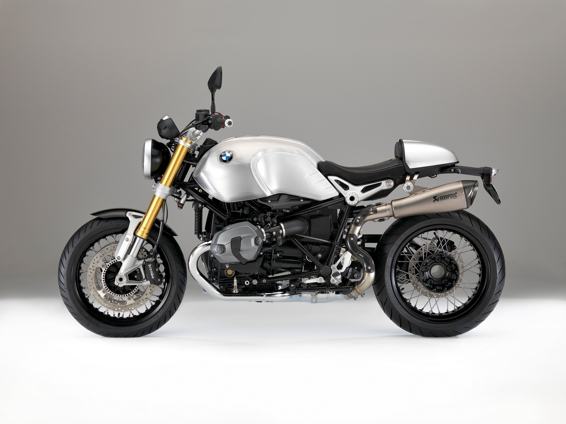 Bmw Aftermarket Parts >> BMW Introduces Hand-Brushed Aluminium Tanks for the R ...
