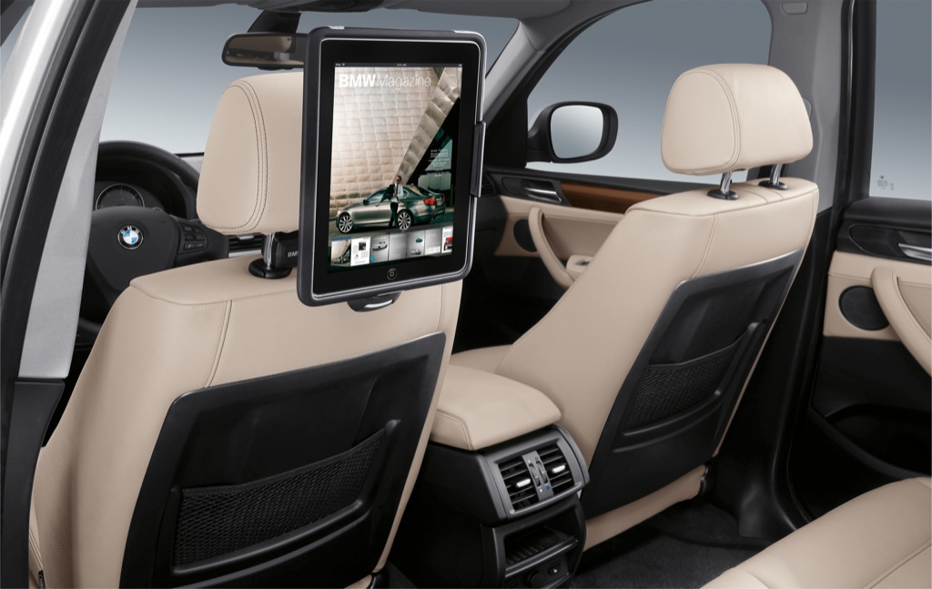 Bmw Ipad Holders And Wifi Hotspot Autoevolution