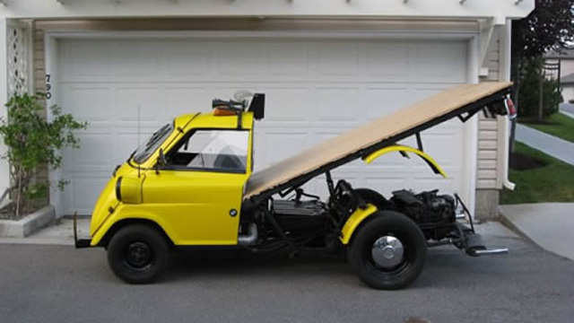 Bmw Isetta Flatbed Truck Autoevolution