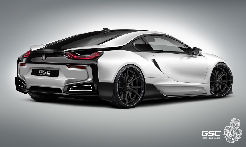 Bmw Itron Body Kit For The I8 Body Kit Is Out Of This World