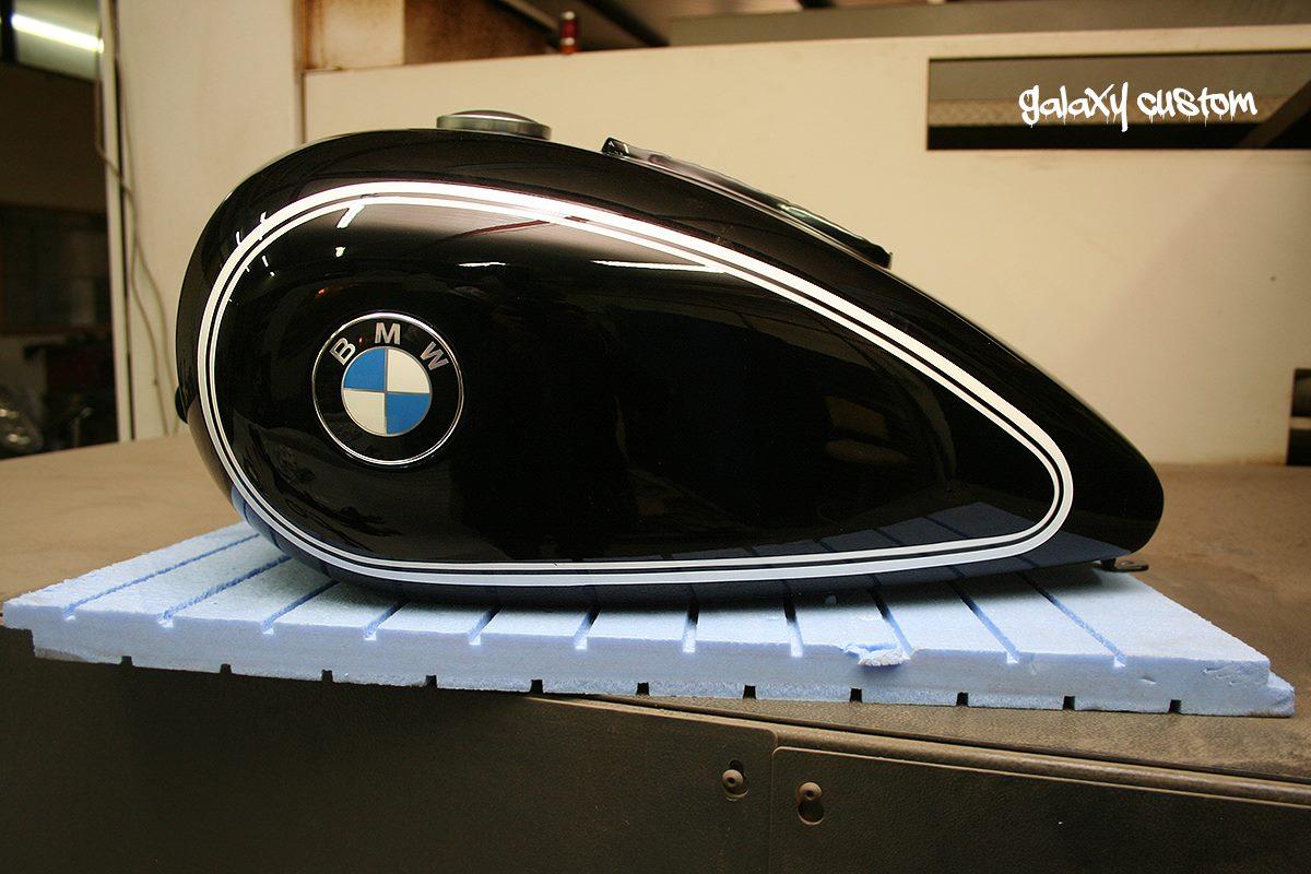 BMW K1200RS Visits Galaxy Custom, Becomes a Radical Bobber