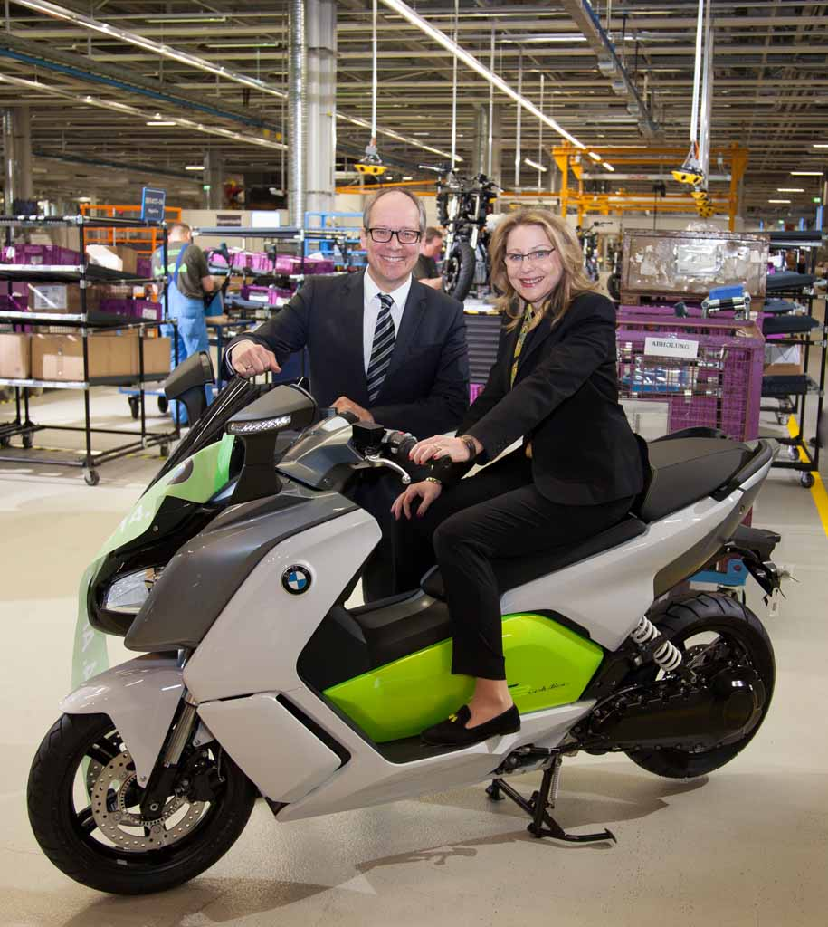 BMW Kicks Off Production For C Evolution Electric Scooter