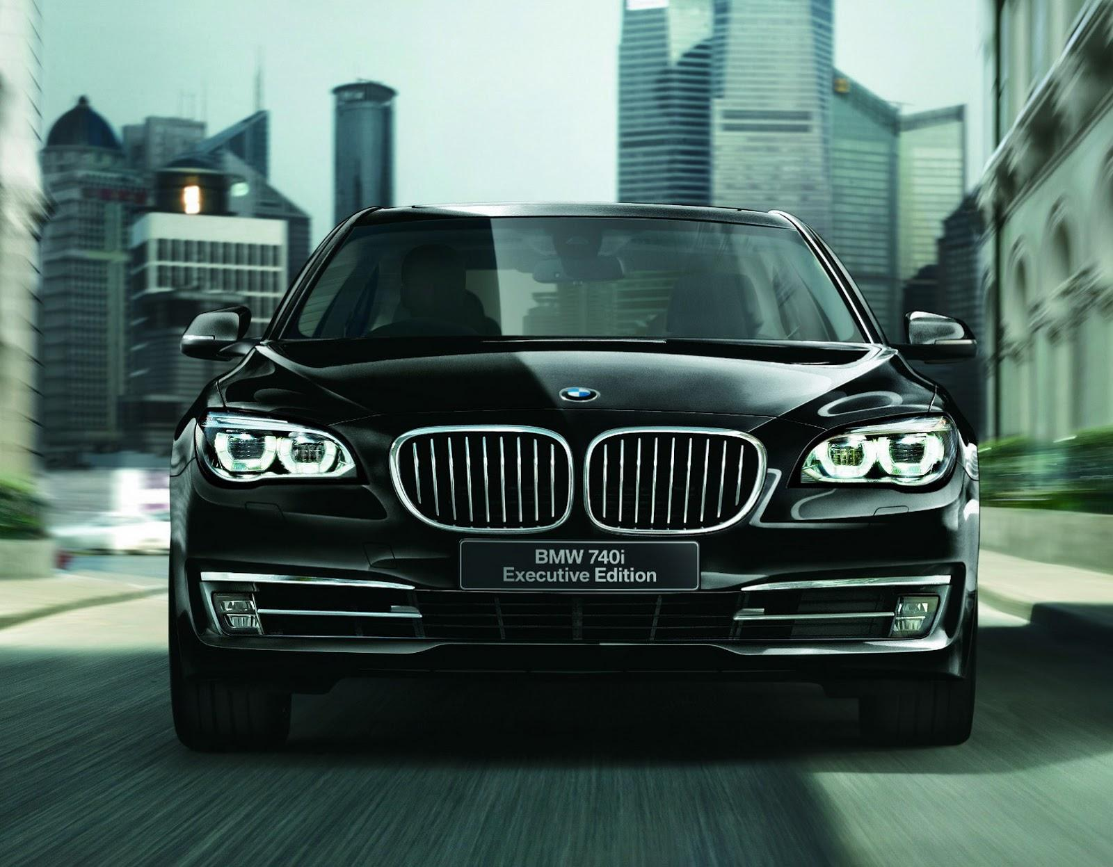 Bmw Launches 740i Executive Edition Model In Japan