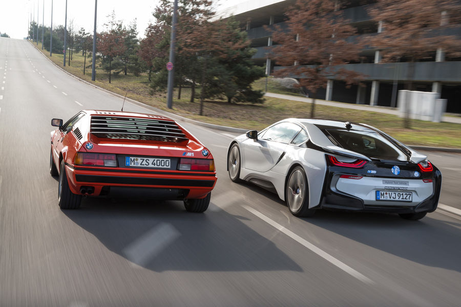 Bmw M1 Vs Bmw I8 Comparison Autoevolution
