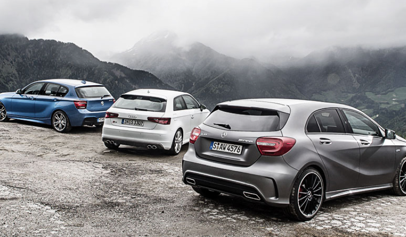 Bmw M135i Vs Mercedes Benz A45 Amg Vs Audi S3 Comparative