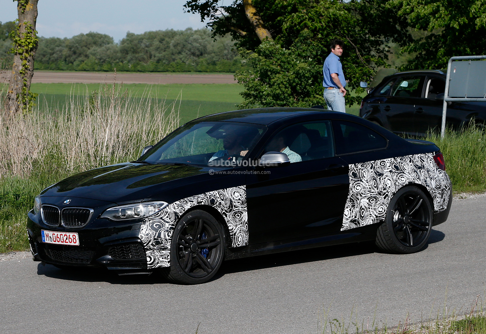 BMW M2 Coupe Spied Testing for the First Time [Photo Gallery]