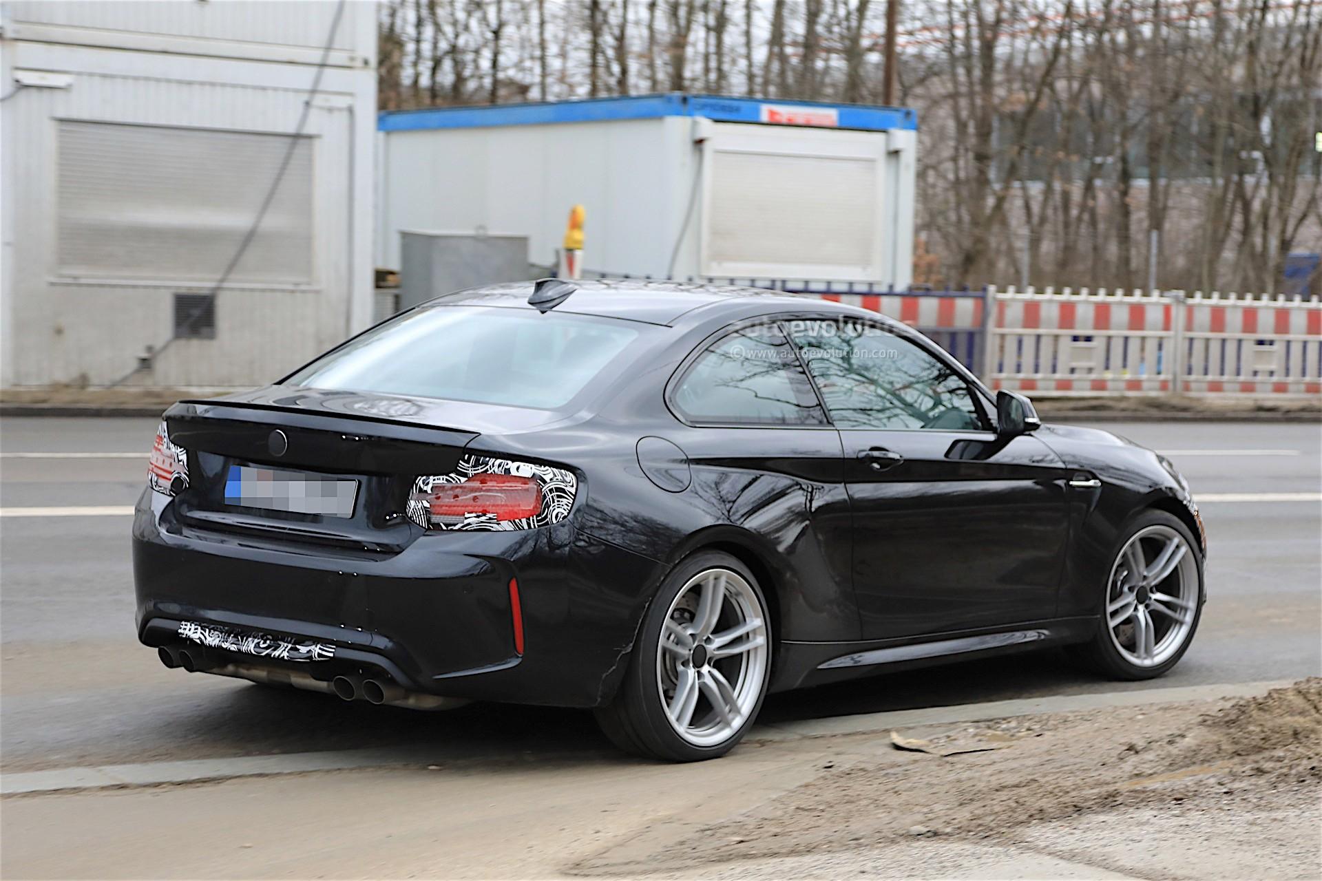 Bmw 2002 Turbo >> 2018 BMW M2 CS Spotted Winter Testing With M3 Engine - autoevolution
