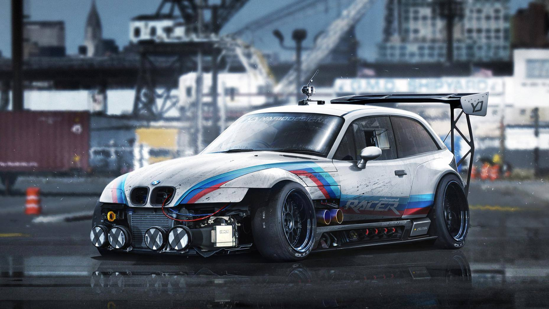 Bmw M2 Csl Rendering Looks Like It Eats The Cayman Gt4 For