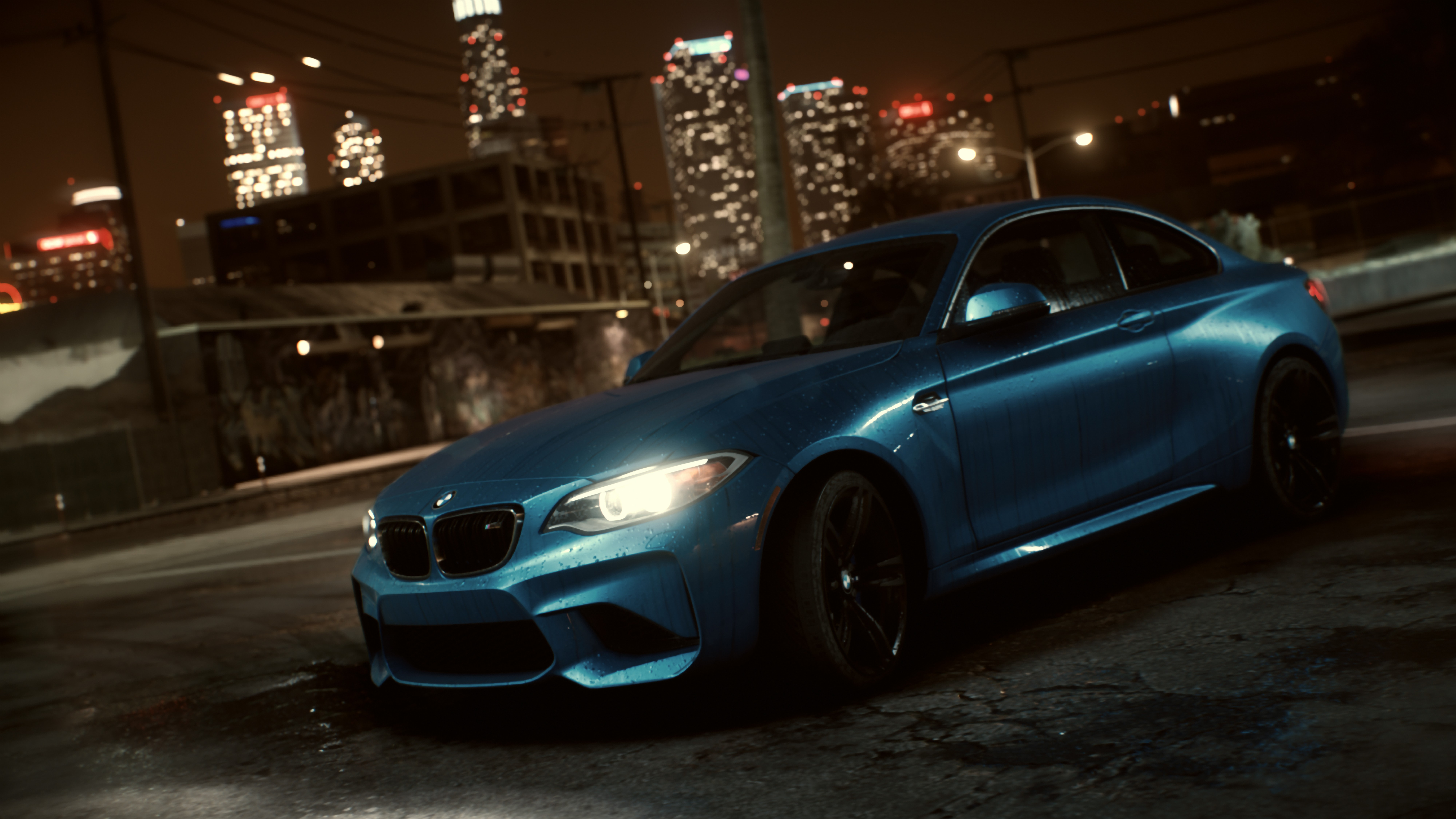 bmw m2 makes its debut inside the need for speed realm autoevolution. Black Bedroom Furniture Sets. Home Design Ideas
