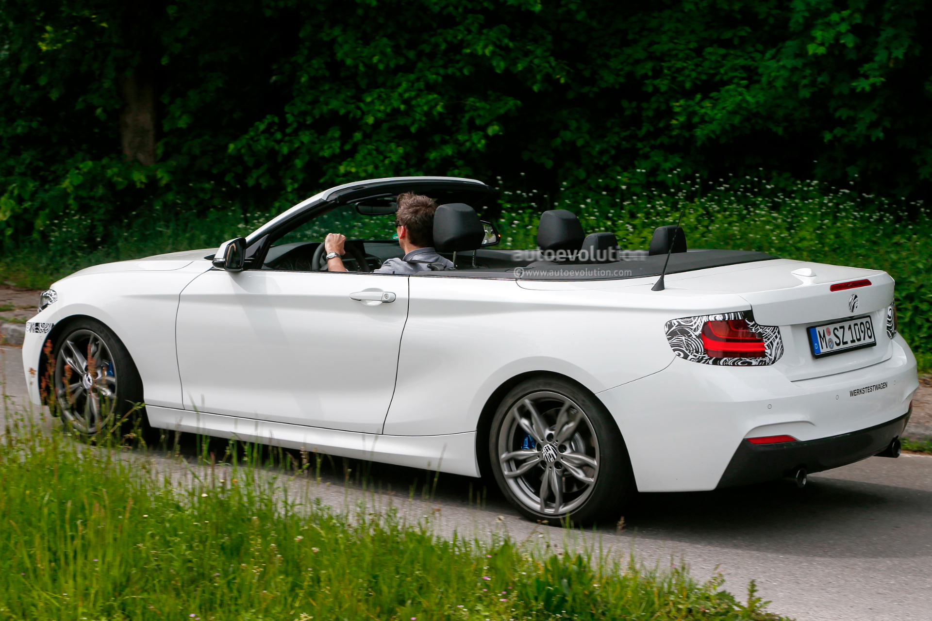 Bmw M I Convertible Spied With The Top Down