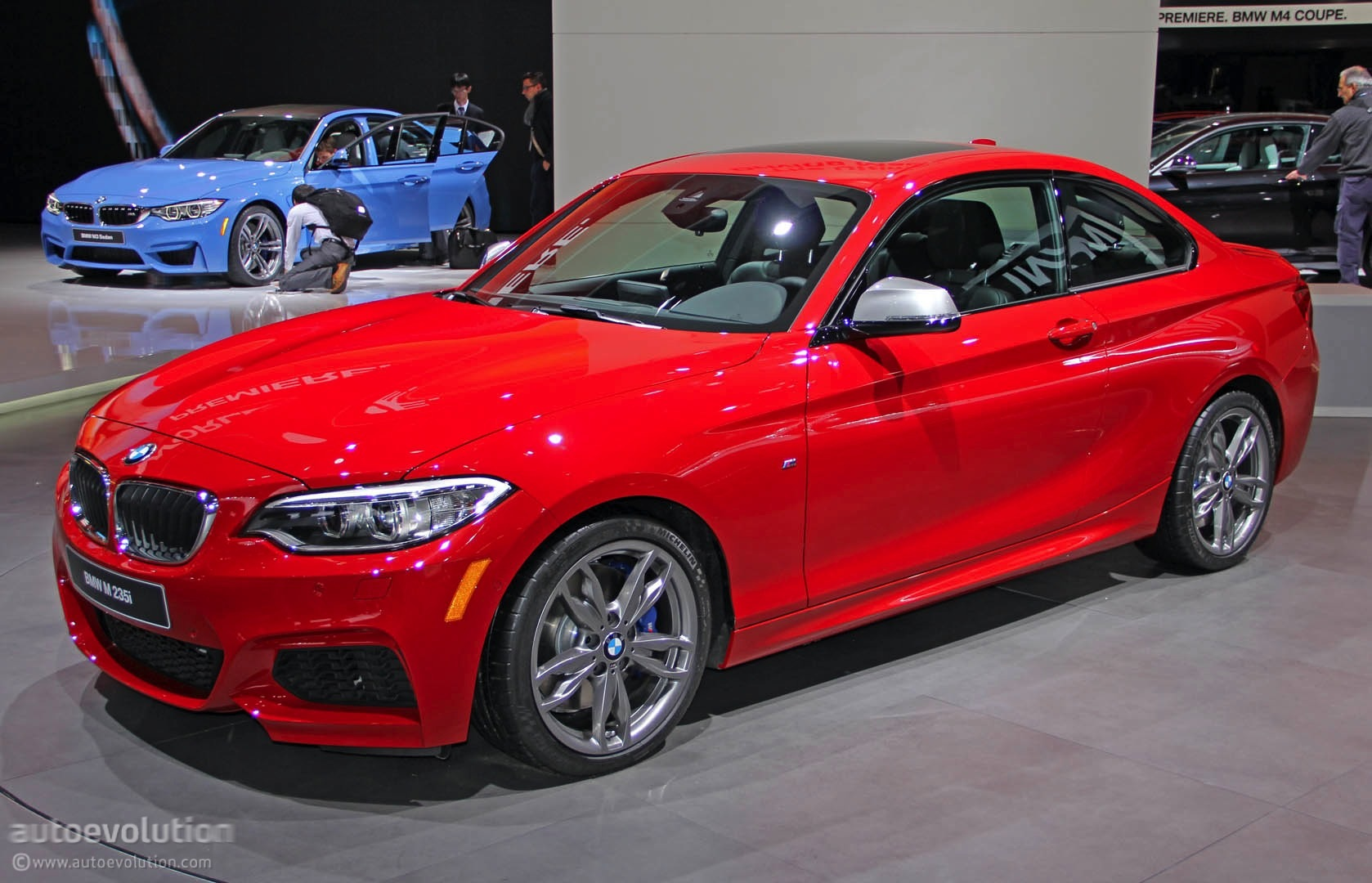 Bmw M235i Live Photos From Detroit