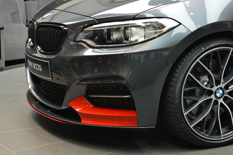 Bmw M235i Shows Up In Abu Dhabi With Red Performance Parts