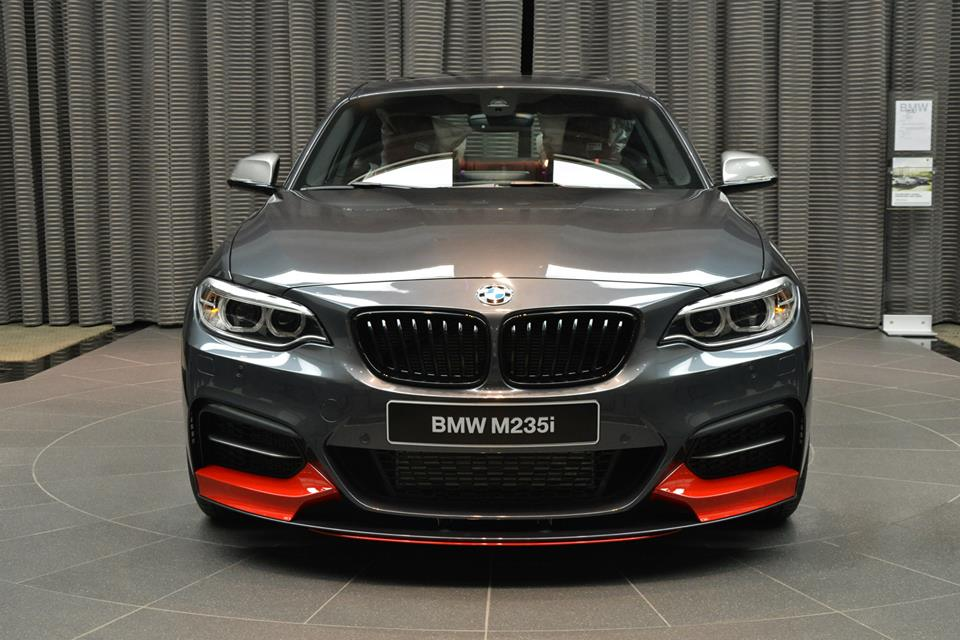 BMW M235i Shows Up in Abu Dhabi with Red Performance Parts ...