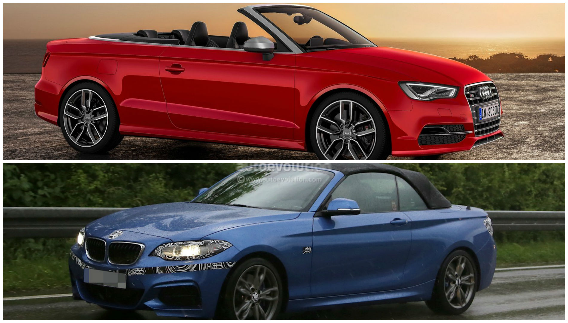 bmw m235i vs audi s3 battle of the compact performance. Black Bedroom Furniture Sets. Home Design Ideas