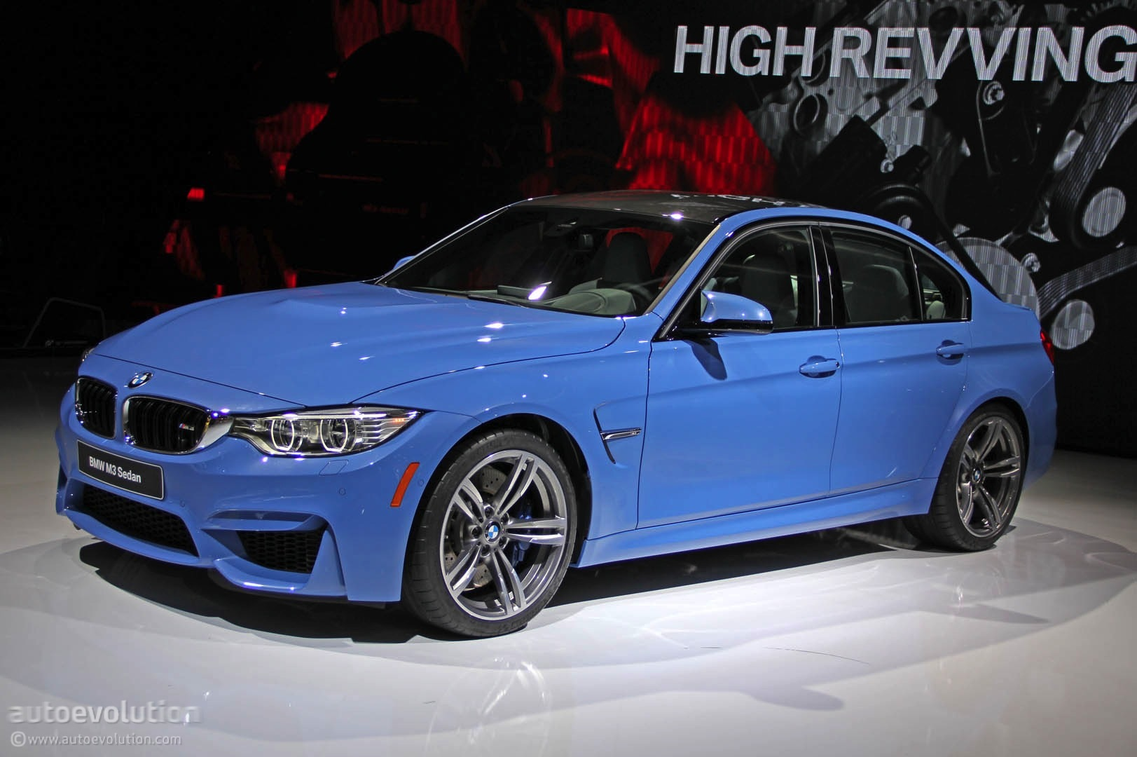 Bmw M3 Bows At Detroit Ready To Obliterate The 2015