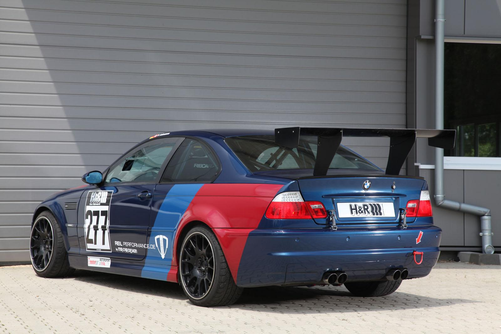 Bmw m3 csl tuned by reil performance nurburgring in 7 43 for Bmw nasa garage juillet niort