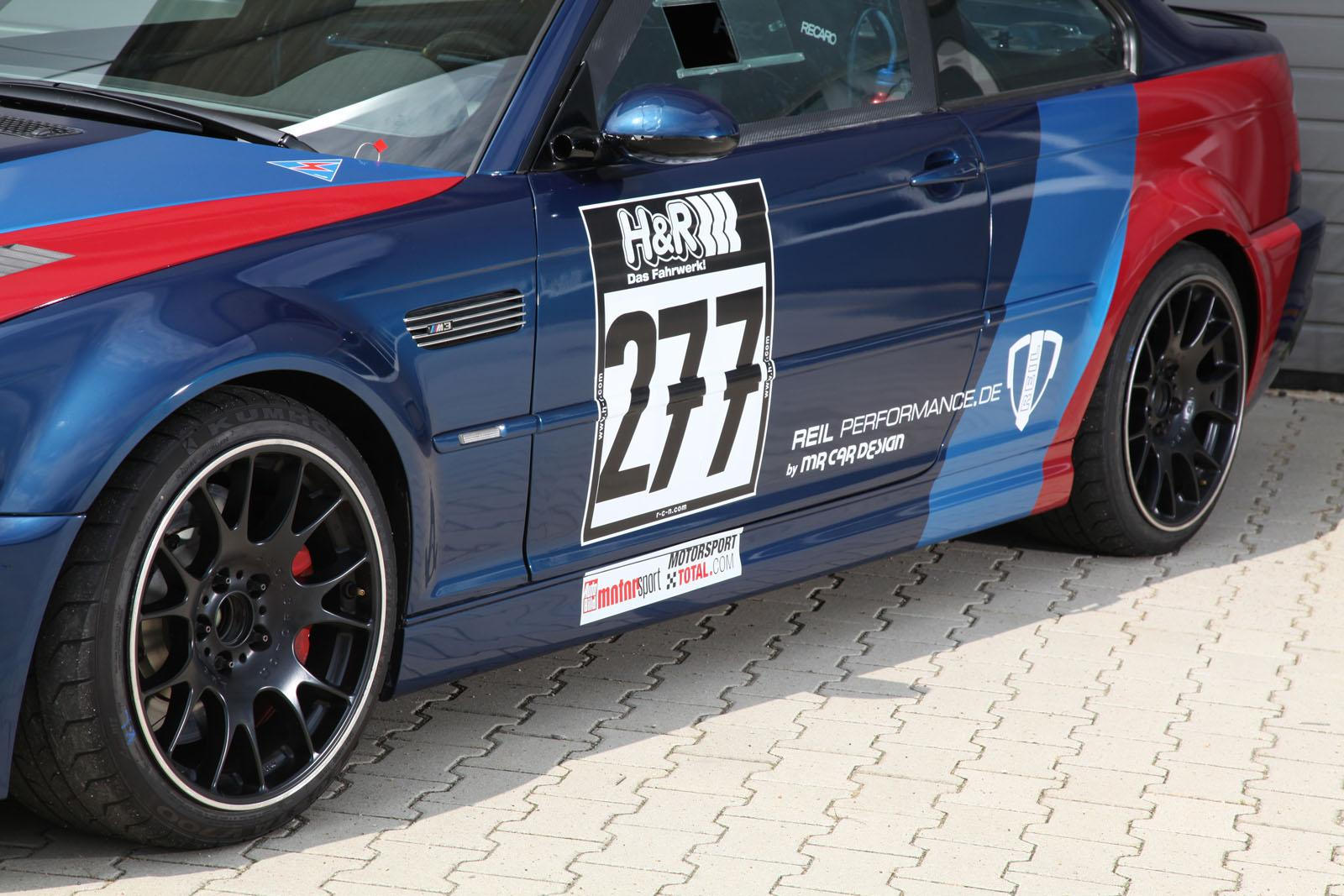BMW M3 CSL Tuned by REIL Performance, Nurburgring in 7:43 ...