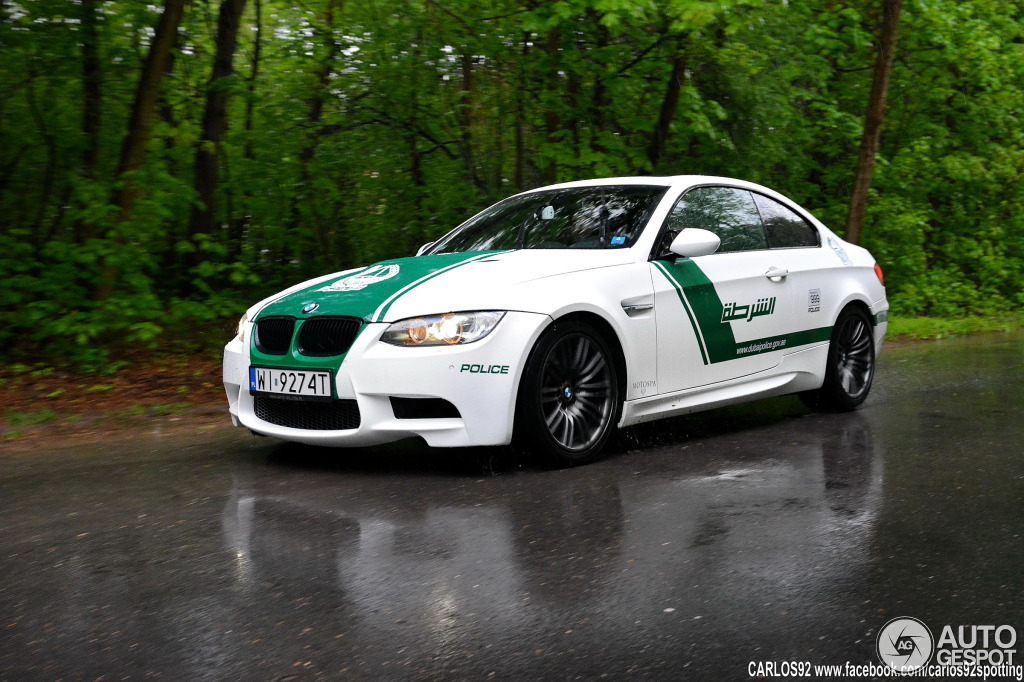 Warsaw In Chevrolet >> BMW M3 Dubai Police Car Spotted in Poland - autoevolution