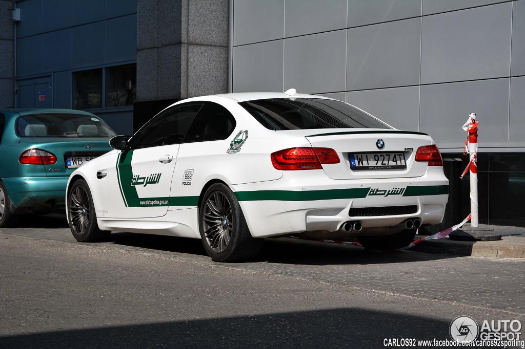 Bmw M3 Dubai Police Car Spotted In Poland Autoevolution
