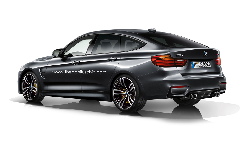 bmw m3 gran turismo rendering autoevolution. Black Bedroom Furniture Sets. Home Design Ideas
