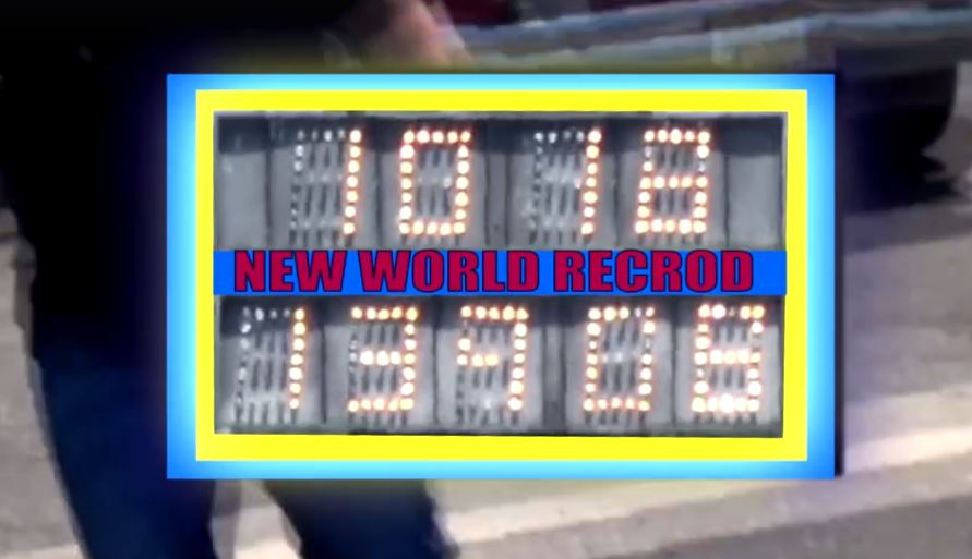 bmw m3 sets 10.1s 1/4-mile world record, beats bugatti veyron on