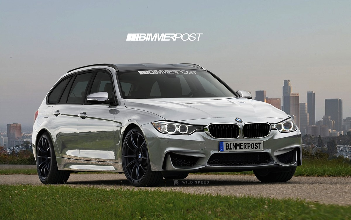 bmw m3 touring rendering what if autoevolution. Black Bedroom Furniture Sets. Home Design Ideas