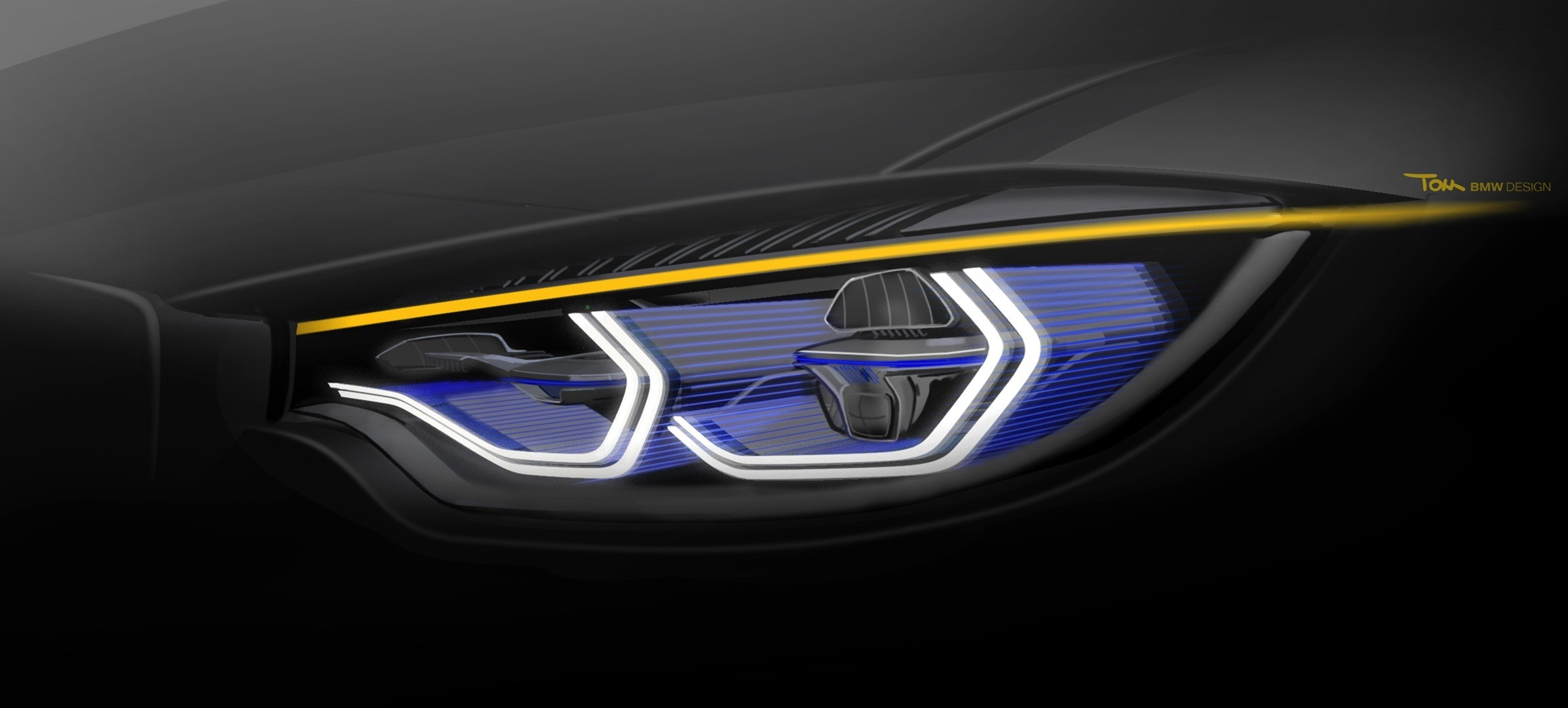 Bmw M4 Concept Iconic Lights Brings Intelligent Laser