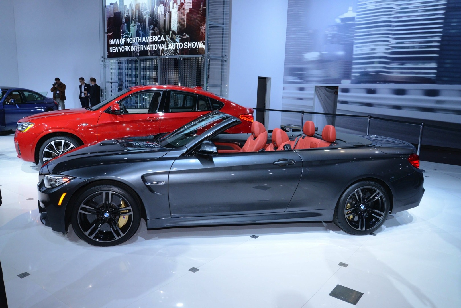 BMW M4 Convertible World Debut at New York [Live Photos ...