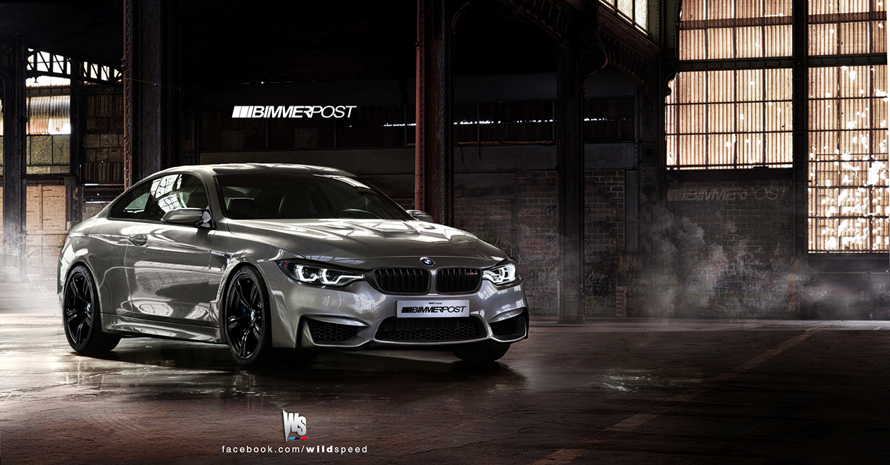 BMW M Coupe Gets Rendered Autoevolution - 2013 bmw m4