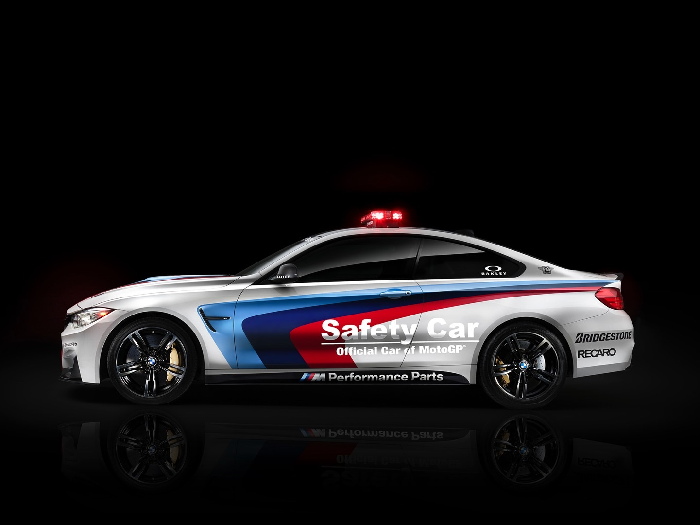 m4 bmw coupe safety motogp revealed autoevolution racing parts pace