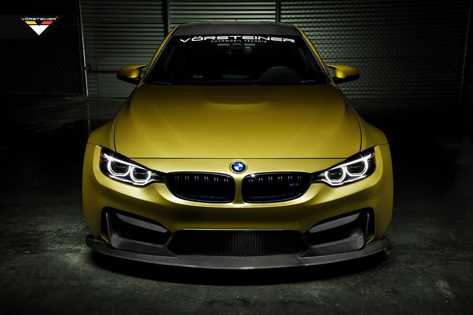 Bmw M4 Gtrs4 Wide Body Kit Unveiled By Vorsteiner Autoevolution