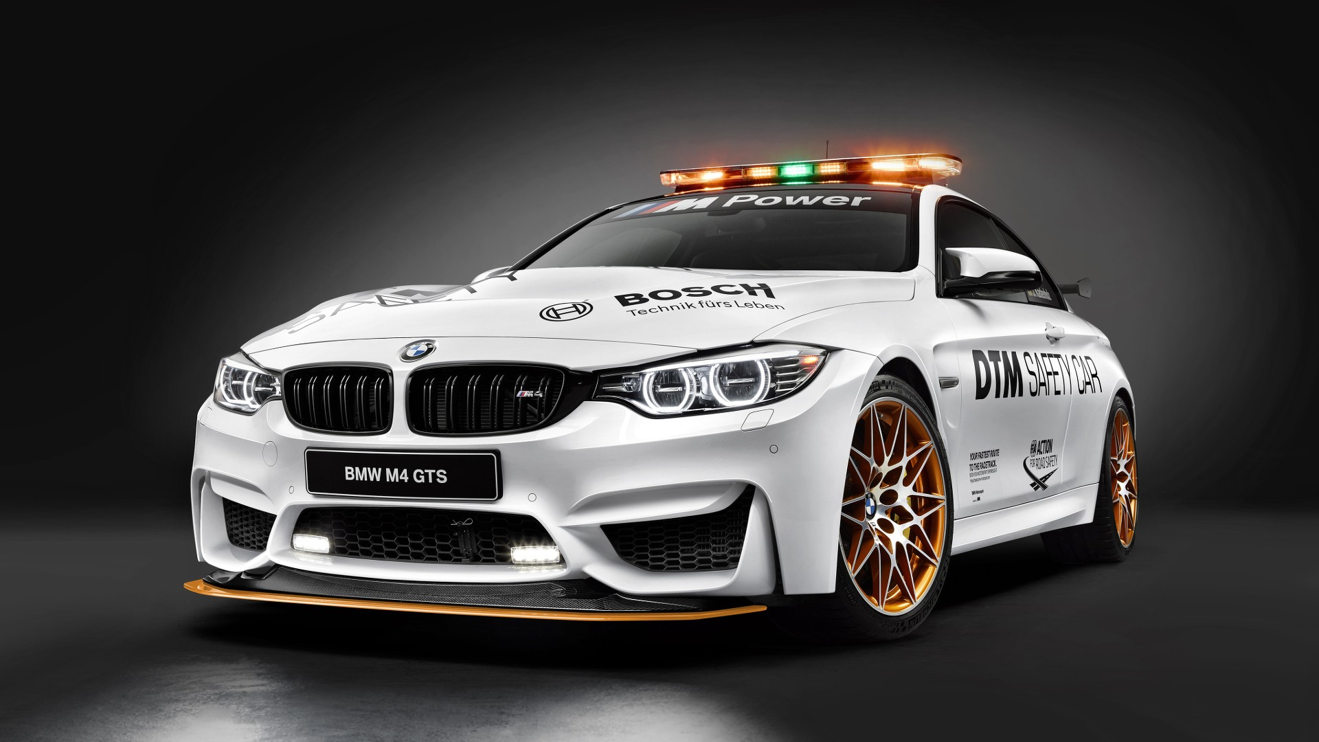 bmw reveals m4 gts safety car for 2016 dtm season autoevolution. Black Bedroom Furniture Sets. Home Design Ideas