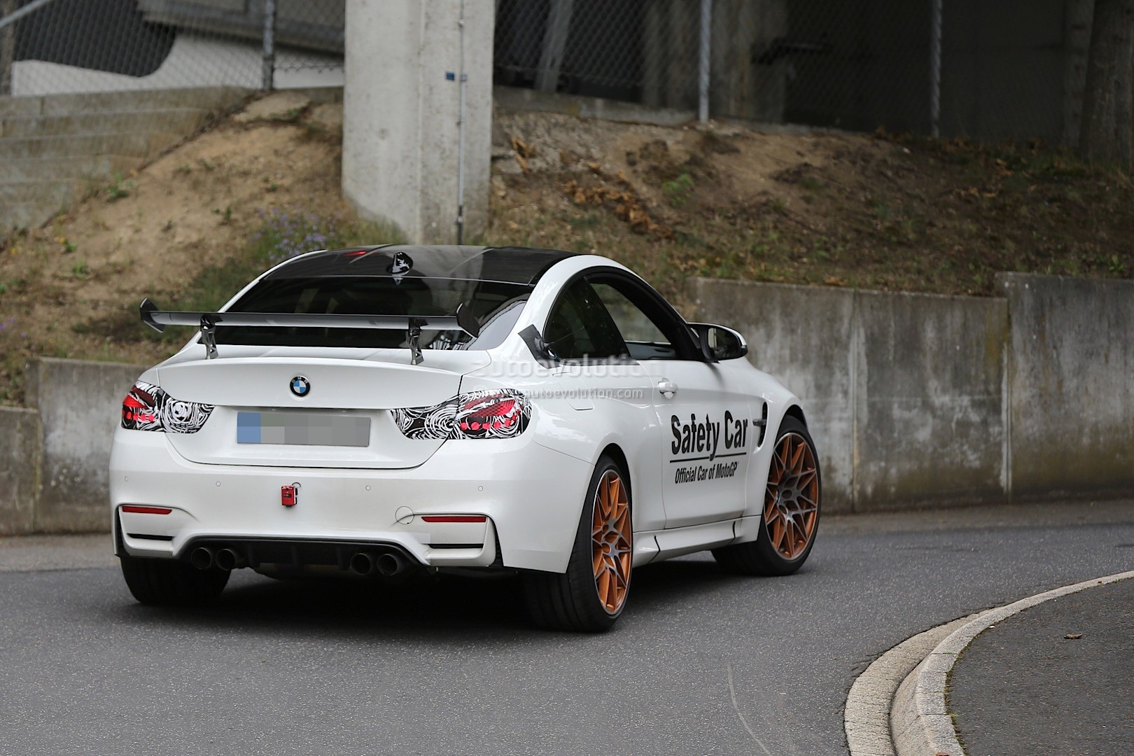 bmw m4 gts spotted on the nurburgring looks like production ready to us autoevolution. Black Bedroom Furniture Sets. Home Design Ideas