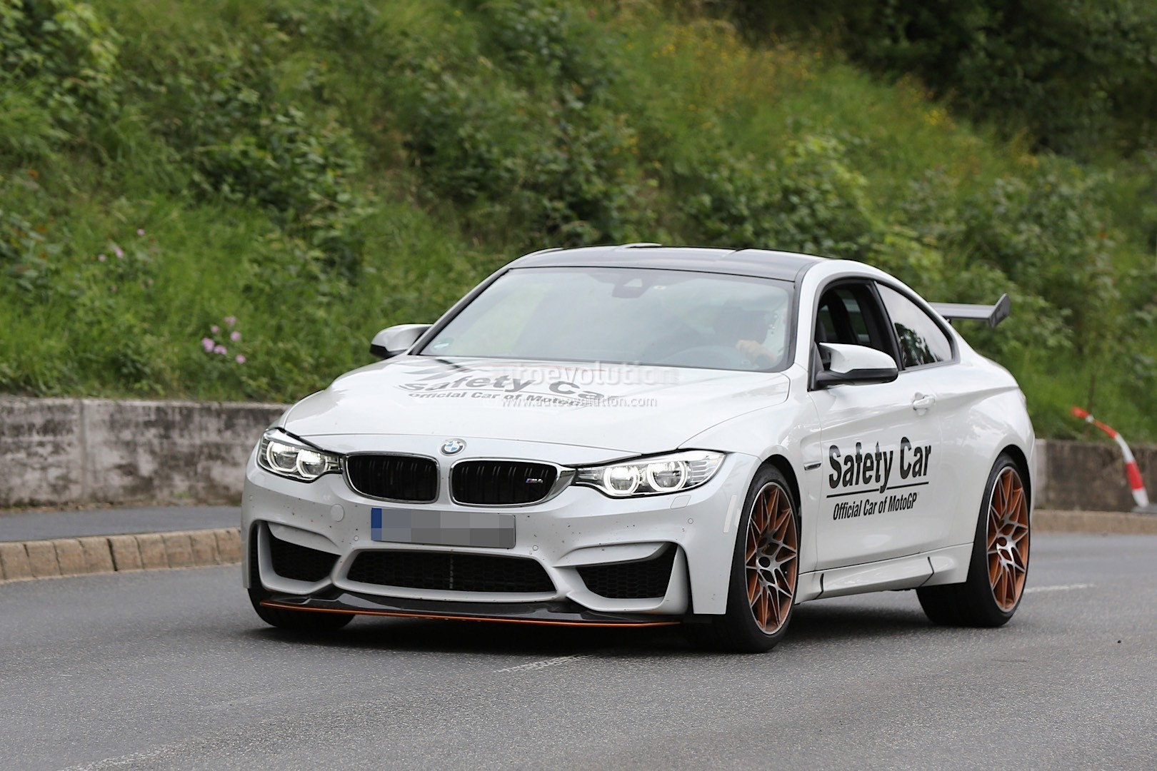 bmw m4 gts spotted on the nurburgring looks like. Black Bedroom Furniture Sets. Home Design Ideas