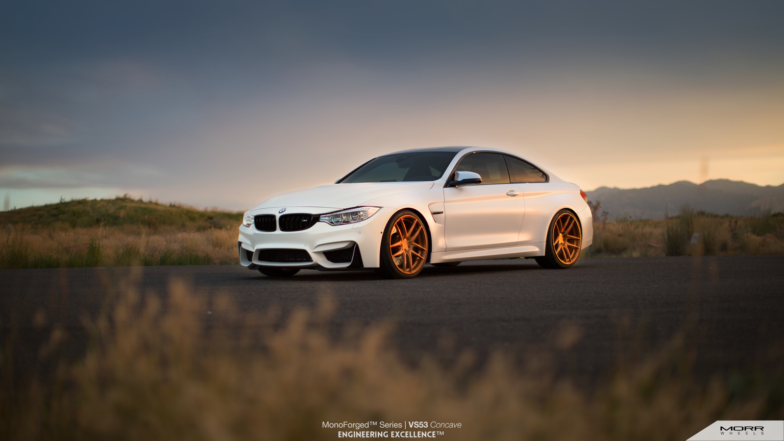 bmw m4 looking sharp on morr wheels with m performance. Black Bedroom Furniture Sets. Home Design Ideas