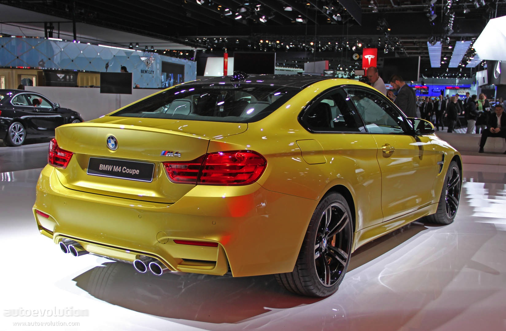 Bmw M4 Looks Proud Of Its New 3 Liter Twin Turbo Engine