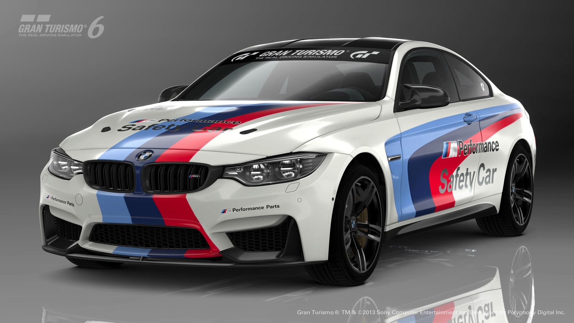 Bmw M4 Safety Car Introduced For Free In The Gran Turismo