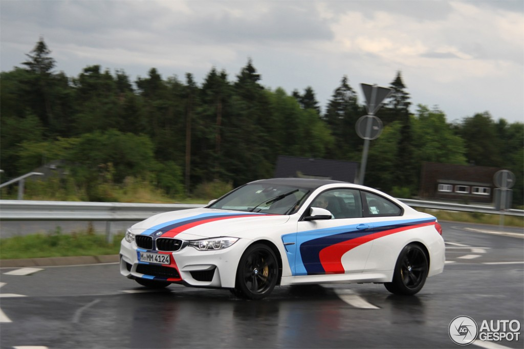 M4 Sport Bmw >> BMW M4 with M Stripes Spotted in Germany - autoevolution