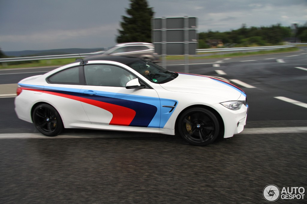 BMW M With M Stripes Spotted In Germany Autoevolution - Bmw racing stripes decals