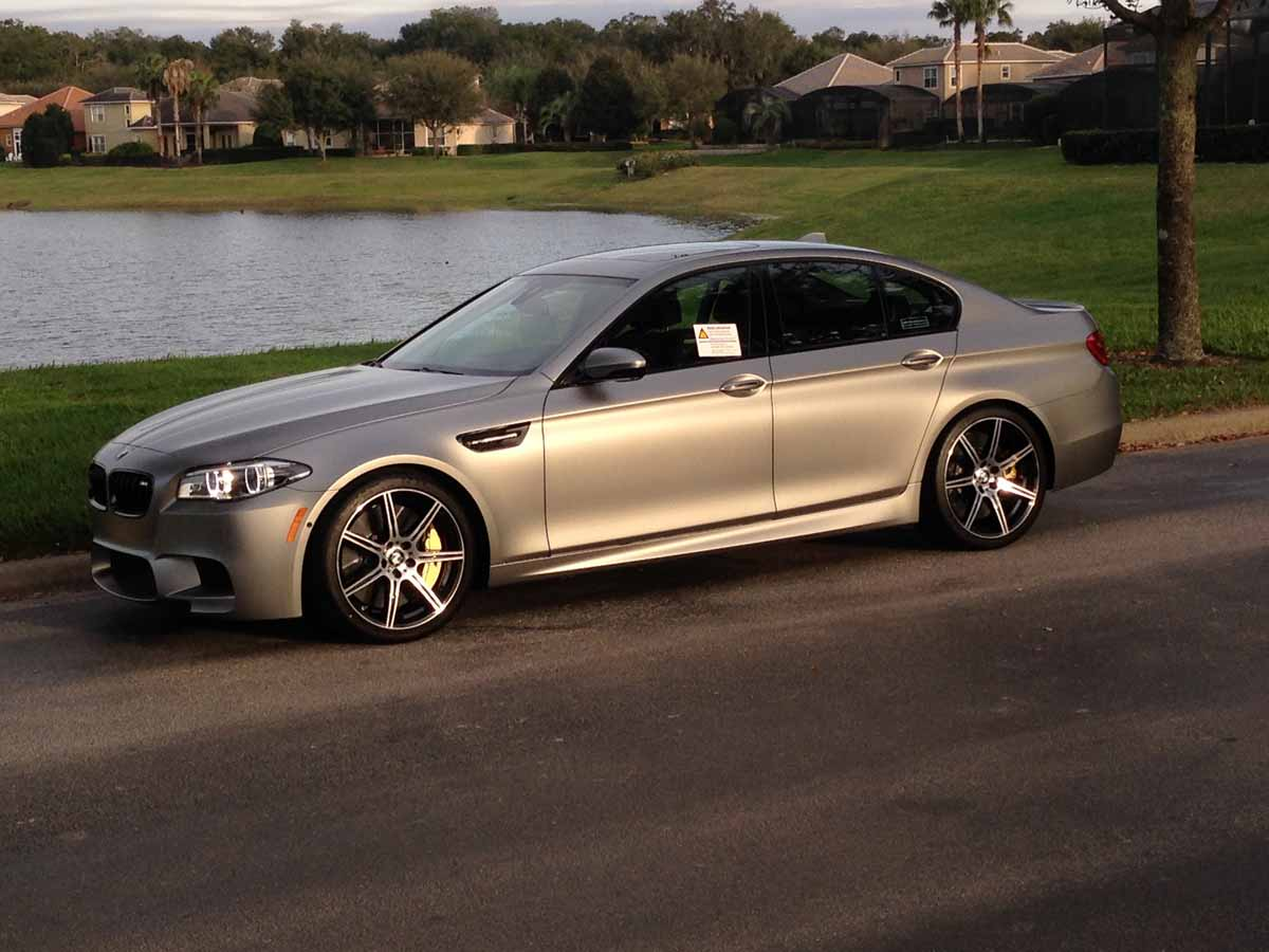 BMW M5 30 Jahre Edition for Sale in the US Costs 325000