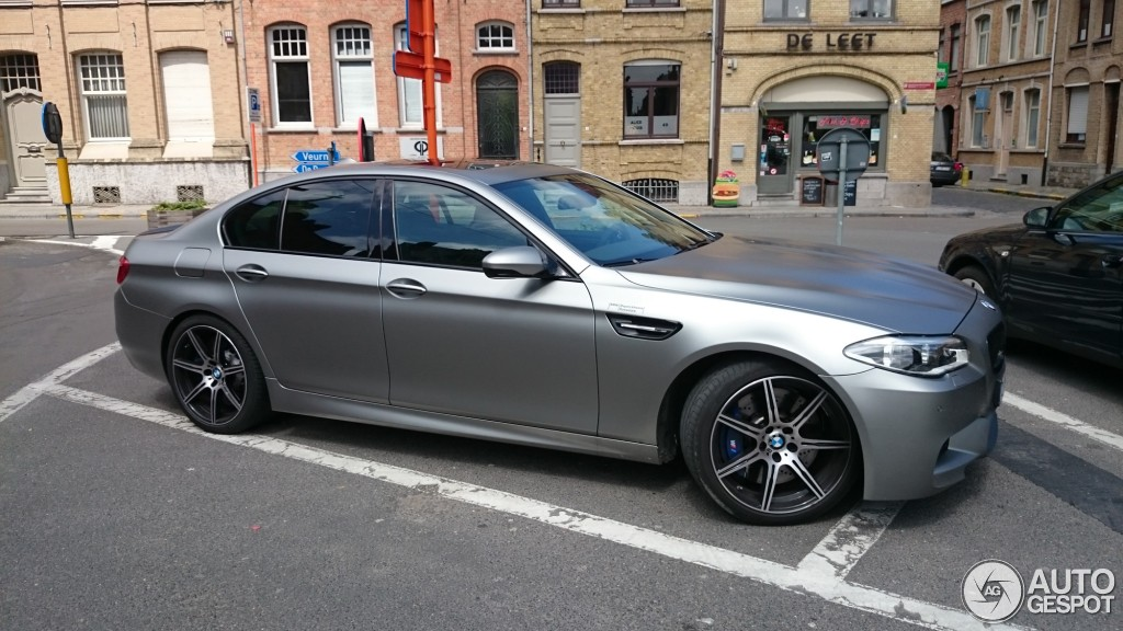 BMW M5 30 Jahre Edition Spotted in Belgium  autoevolution