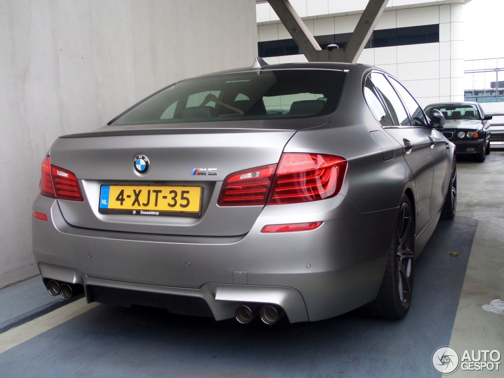 Bmw M5 30 Jahre Edition Spotted In The Netherlands Autoevolution