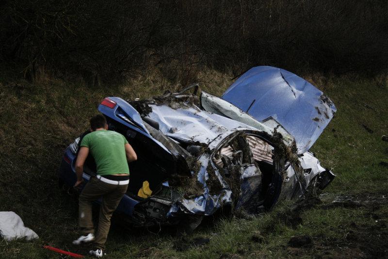 Bmw M Km H Mph Autobahn Crash Photo Gallery