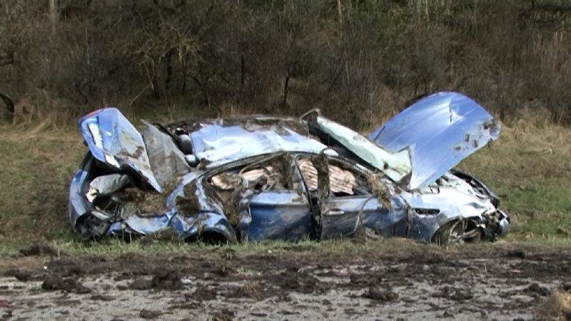 Bmw M5 300 Km H 186 Mph Autobahn Crash Autoevolution