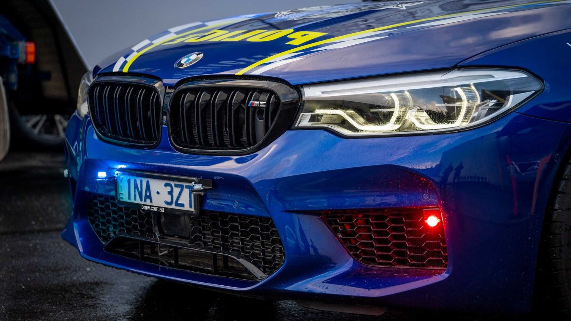 This BMW M5 Competition Cop Car Is Ready For Action